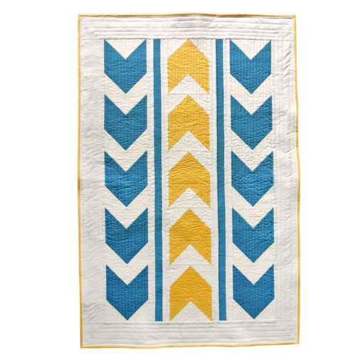 Bow Arrows Baby Quilt