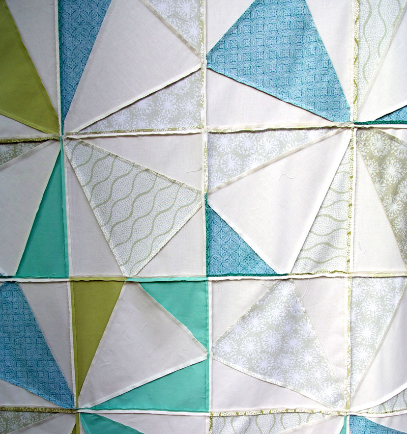 sew Stained Glass quilt