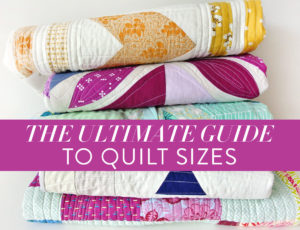 Quilt Sizes Chart