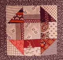 monkey wrench quilt block