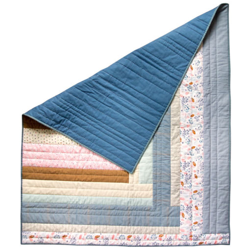 Handmade Weekend Candy Spring Quilt for sale