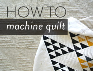 How-To-Machine-Quilt