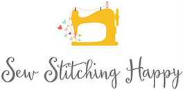 Sew Stitching Happy Logo