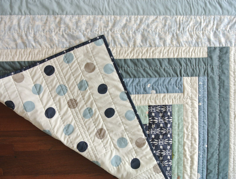 hand-quilted