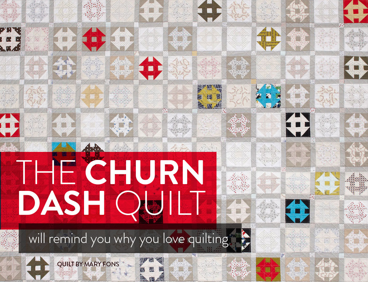 churn-dash-quilt-pattern