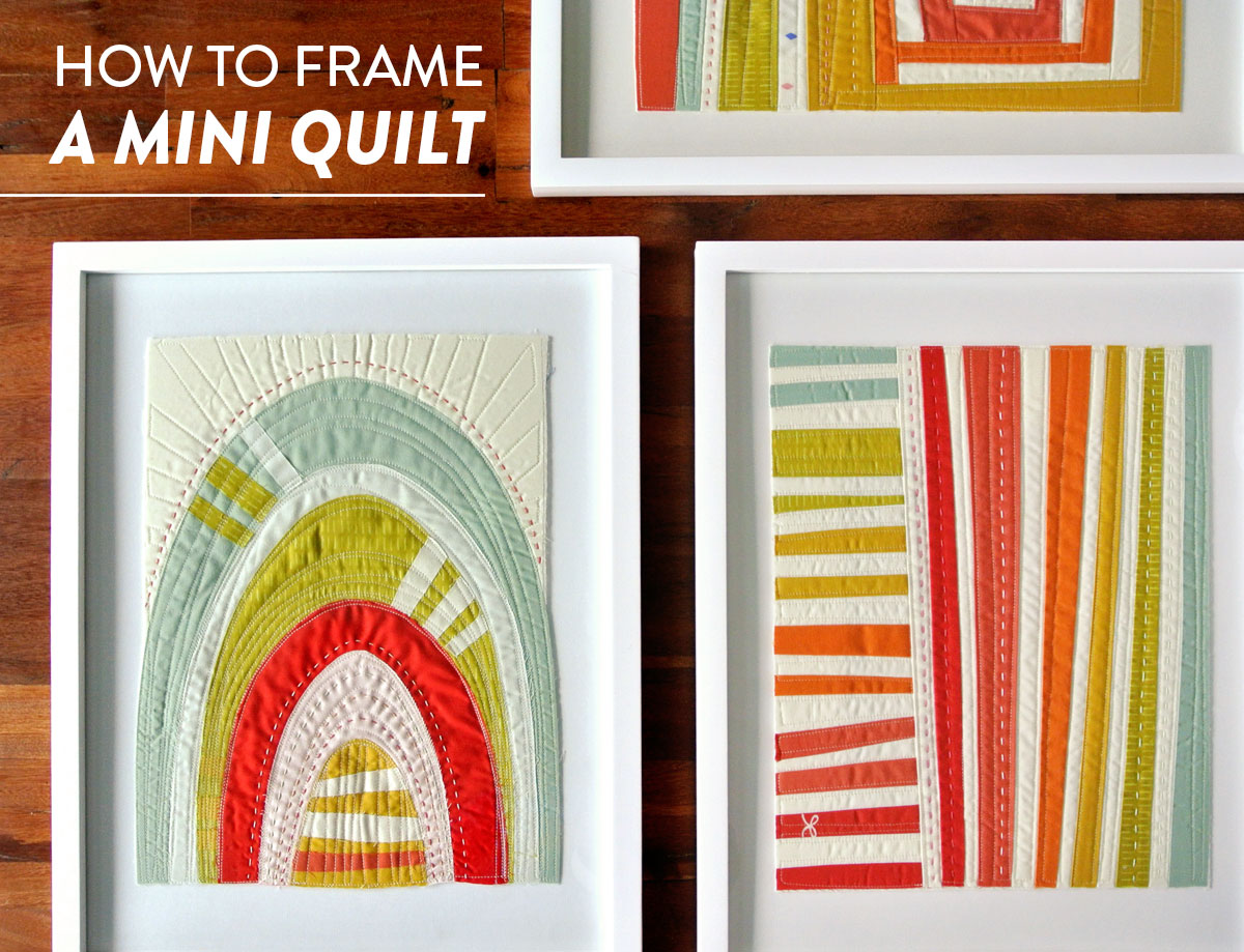 How-To-Frame-A-Mini-Quilt