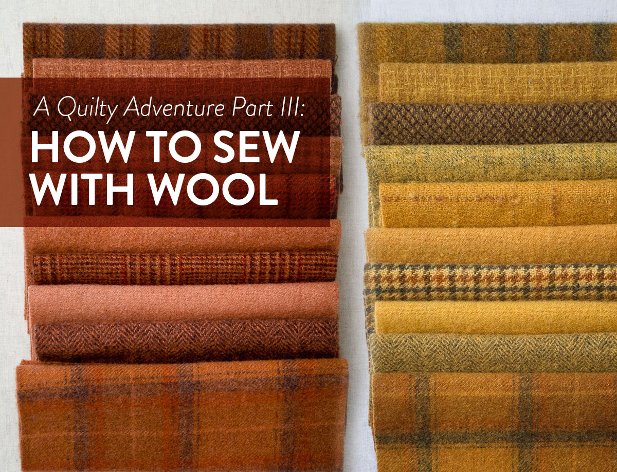 How To Sew With Wool