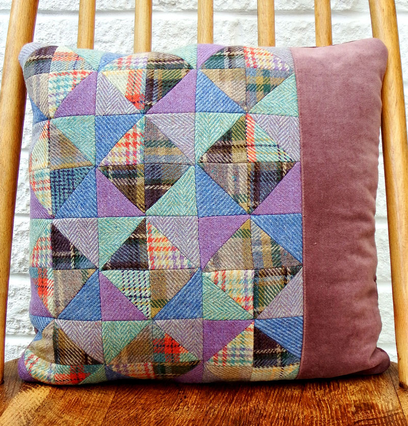 Wool-Patchwork-Pillow