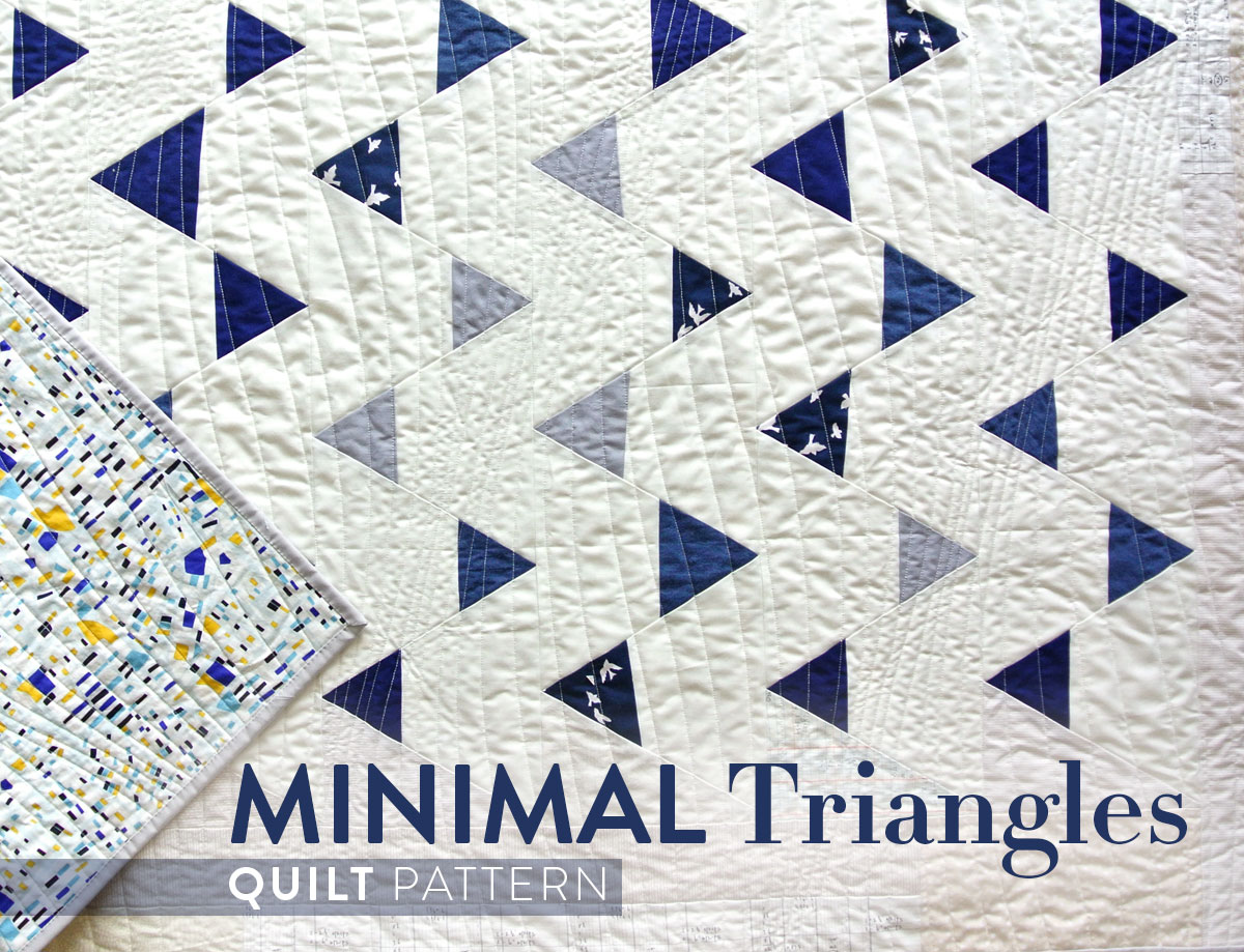 Minimal-Triangles-Quilt-Pattern