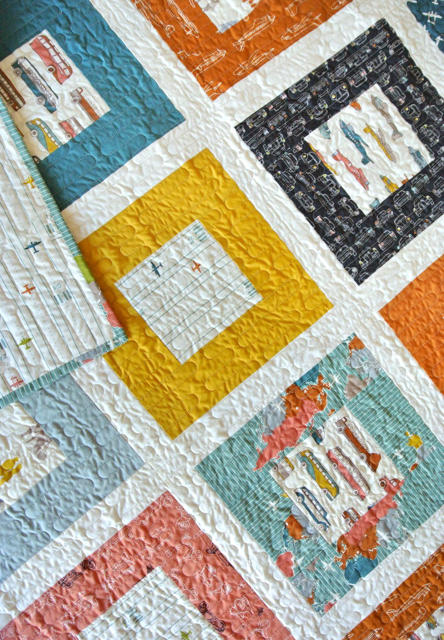Free-Simple-Squared-Quilt-Pattern