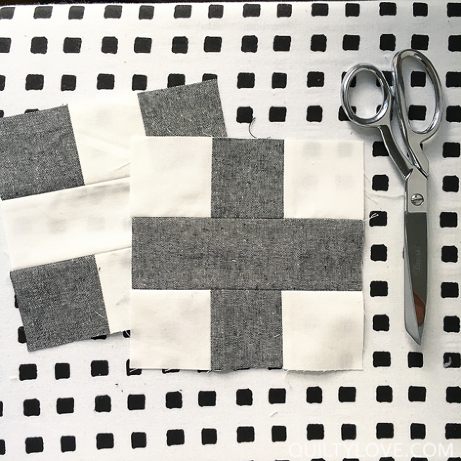 Free Plus Quilt Tutorial