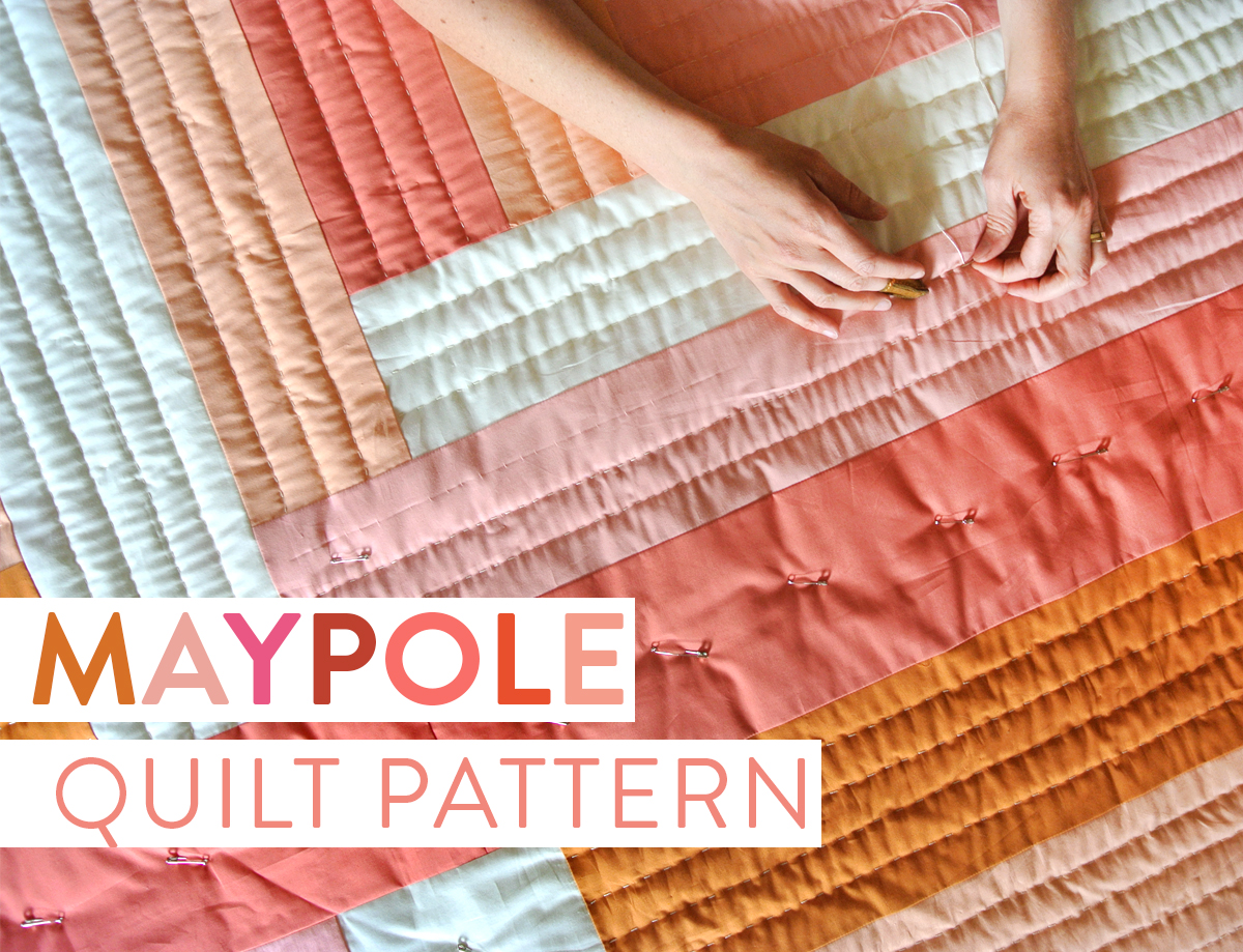 The Maypole Quilt Pattern: A Simple Design with Bold Impact