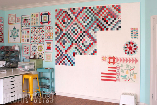 How to Make a Quilt Design Wall - Suzy Quilts