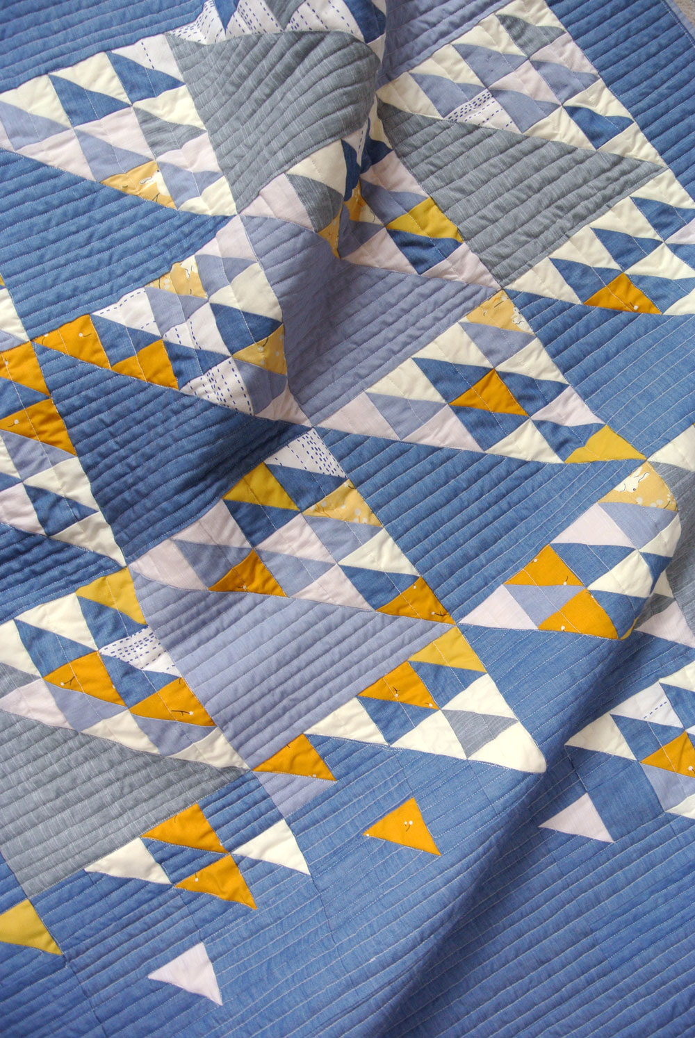 Fly Away Quilt Pattern: Use Up Those Scraps! Quilt Pattern Available From Suzy Quilts | Suzy Quilts https://suzyquilts.com/fly-away-quilt