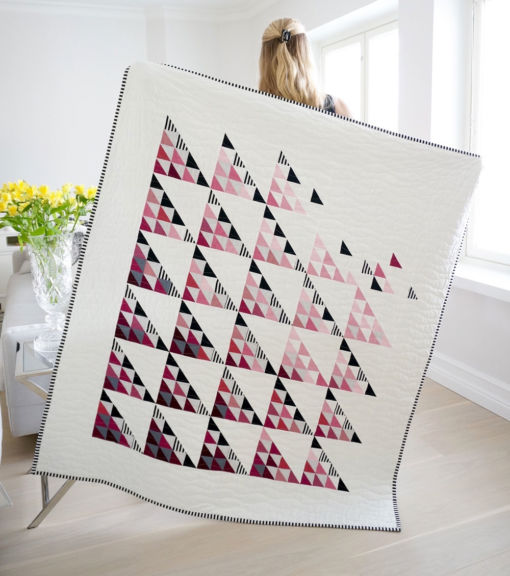Modern-Triangle-Quilt-Pattern
