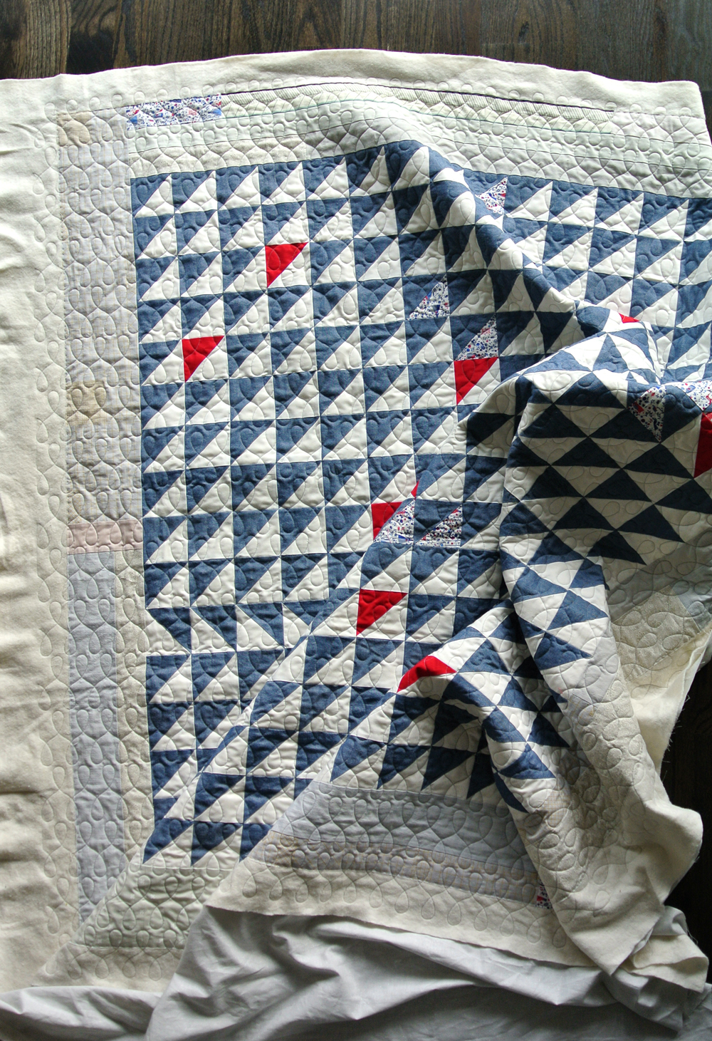 Denim-Triangle-Quilt-Pattern