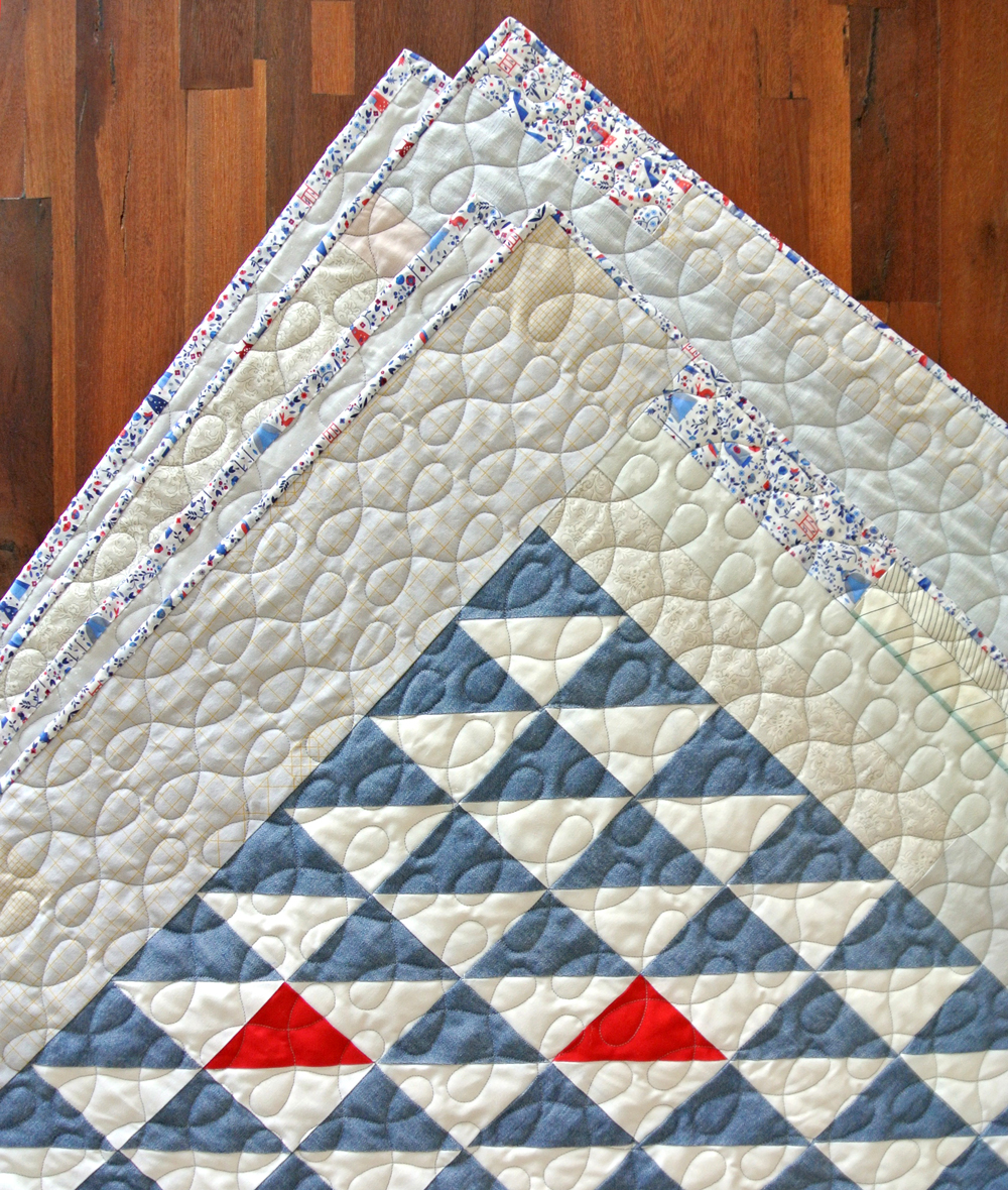 A complete tutorial on how to sew binding on a quilt. This video tutorial shows how to sew binding and attach it seamlessly to the edges of a quilt | Suzy Quilts - https://suzyquilts.com/how-to-sew-binding-on-a-quilt/