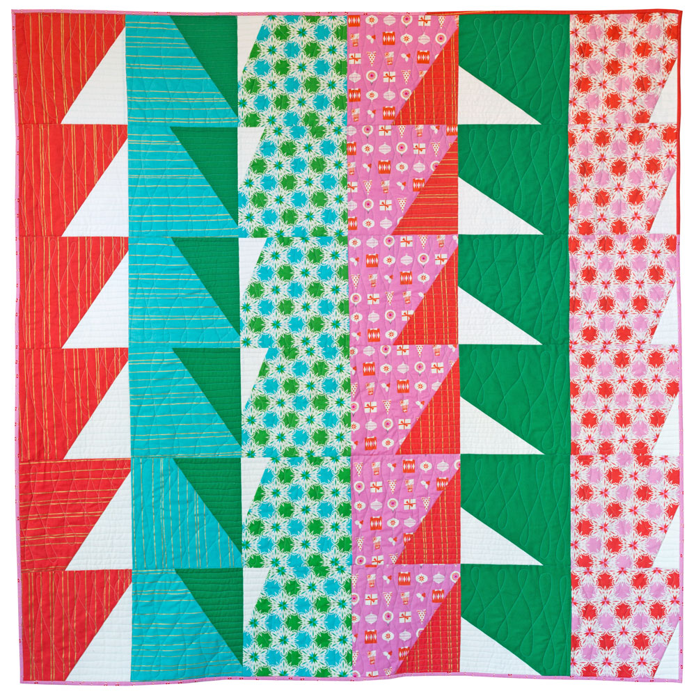 Christmas Quilt Patterns.Bayside Quilt Pattern Download