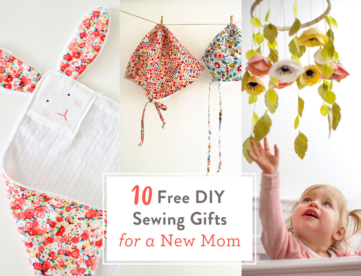 Free Diy Sewing Gifts For A New Mom Suzy Quilts
