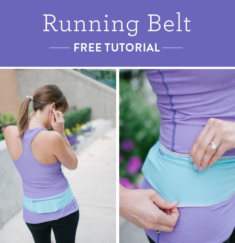 Running-belt-DIY-tutorial