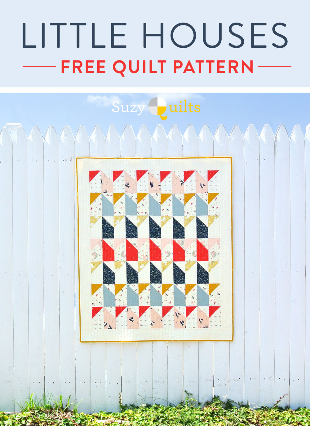 Little-Houses-Baby-Quilt-Pattern