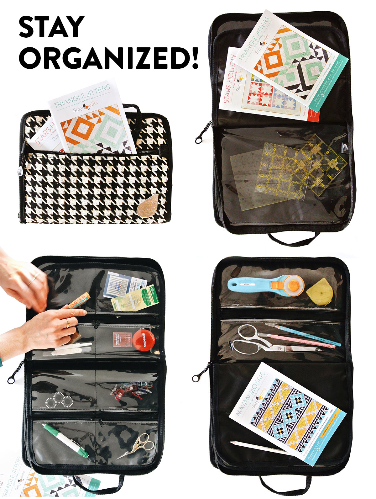 Stay Organized with Bluefig Sewing Bags! Stylish and Practical Sewing Bags | Suzy Quilts https://suzyquilts.com/bluefig-sewing-bags