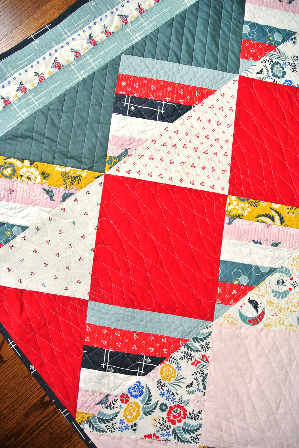 Free Waffle Cone Quilt Pattern | Suzy Quilts https://suzyquilts.com/free-waffle-cone-quilt-pattern