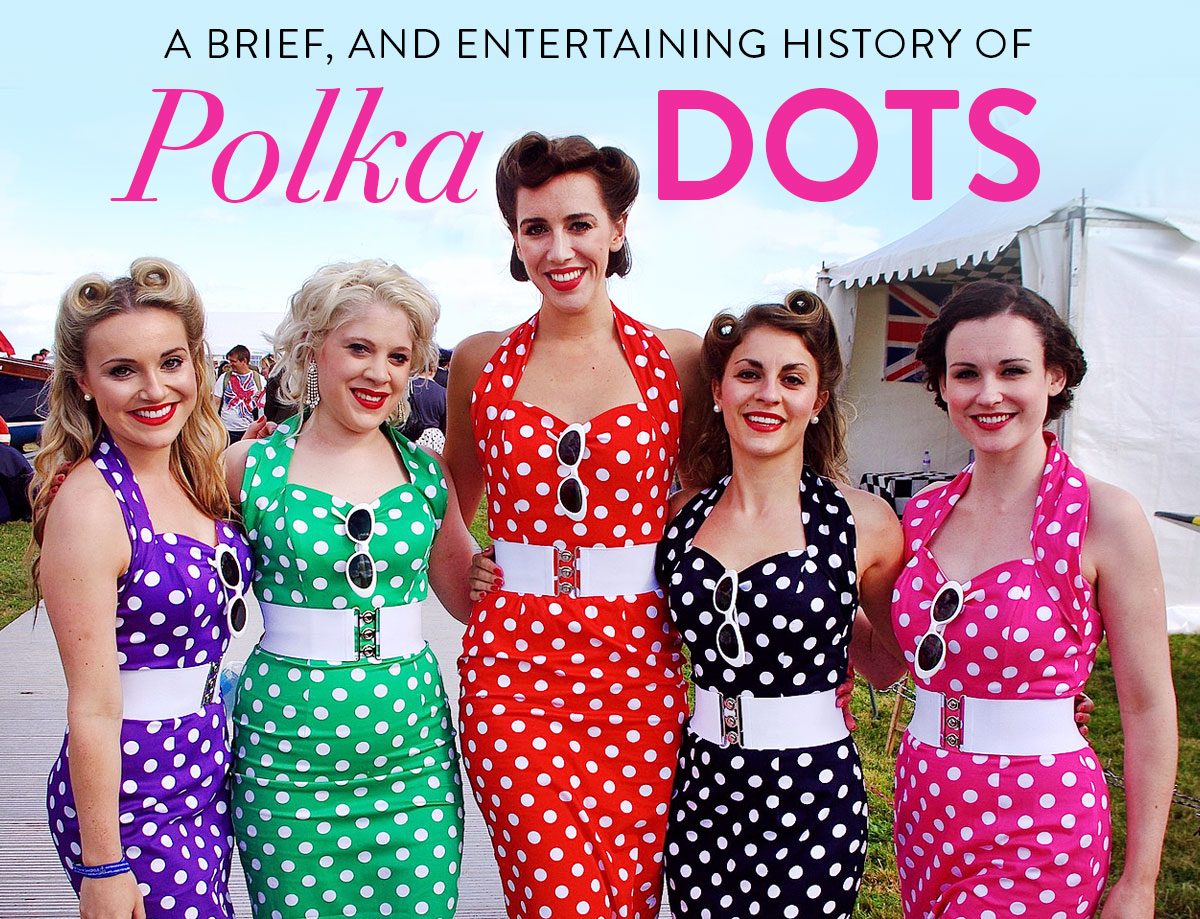 history-of-polka-dots