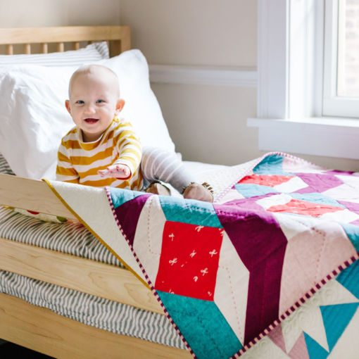 Rocksteady baby Quilt for sale