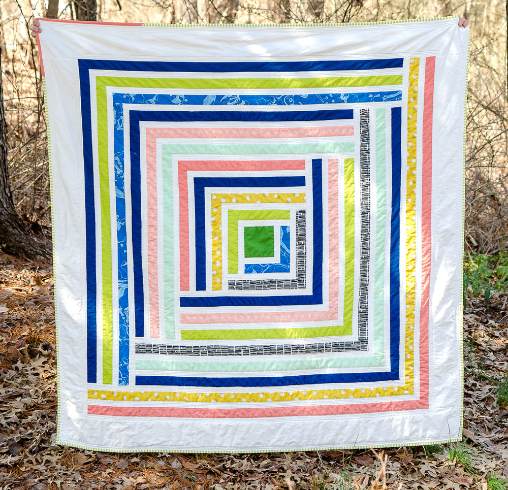 Spring Flowers Quilt Pattern