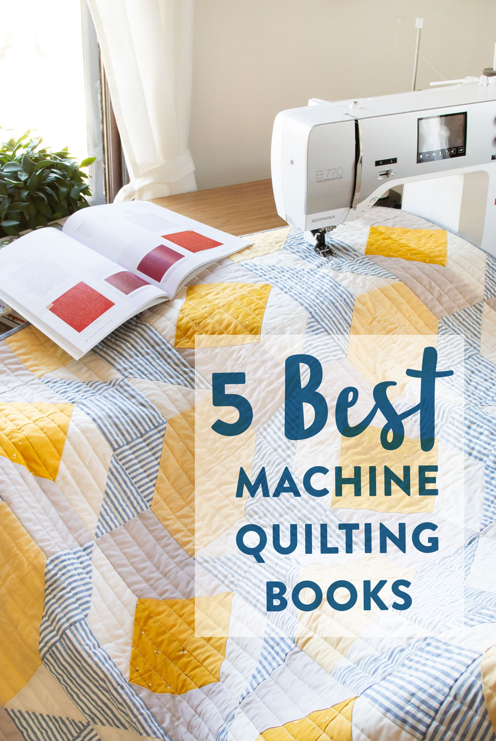 The perfect list of the best books on machine quilting
