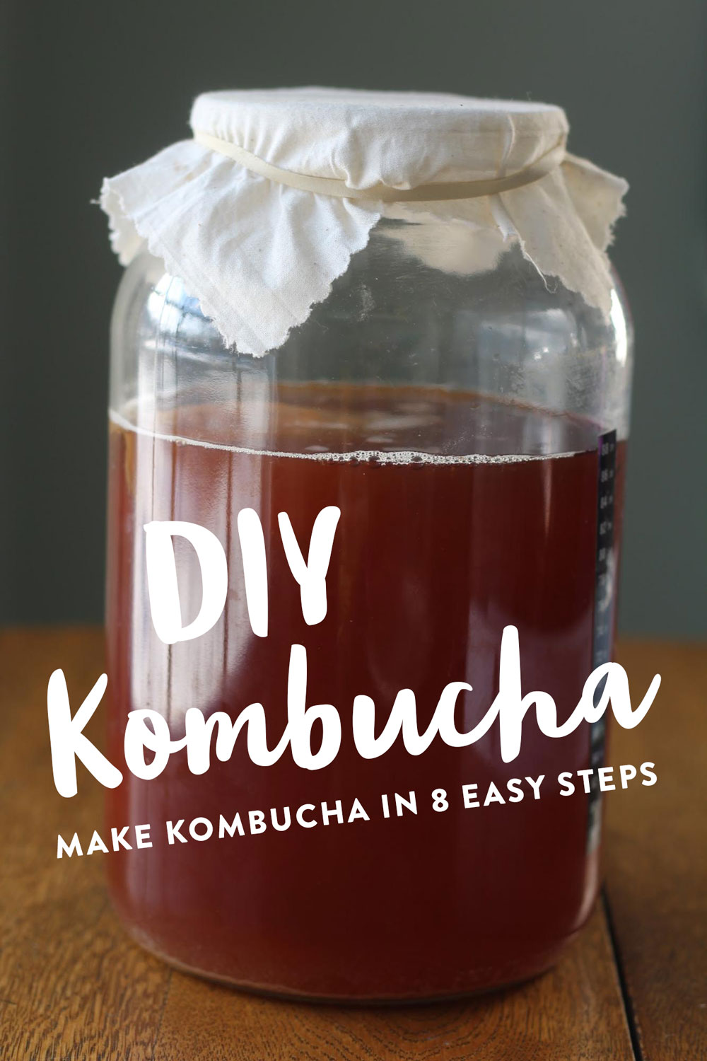DIY kombucha in 8 easy steps