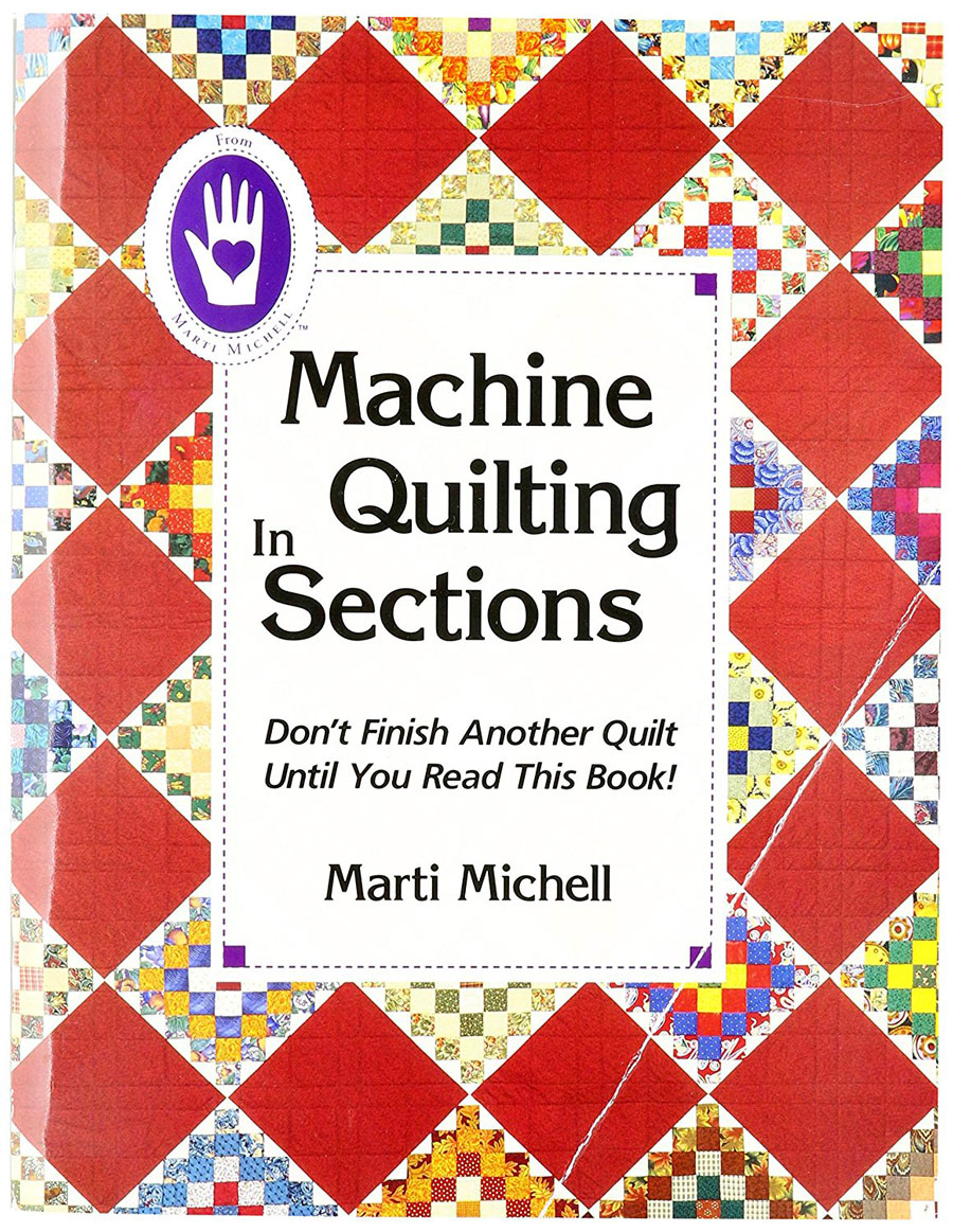 Machine Quilting in Sections Book