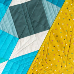 Handmade Ombre Baby Quilt for Sale