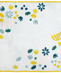 The Bohemian Garden quilt pattern includes instructions to make a wholecloth quilt including a step by step video tutorial