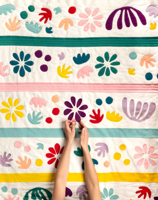 Boho Garden quilt pattern download