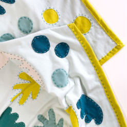 Boho Garden wholecloth quilt pattern with video tutorial