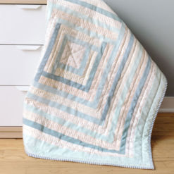 organic handmade baby quilt for sale