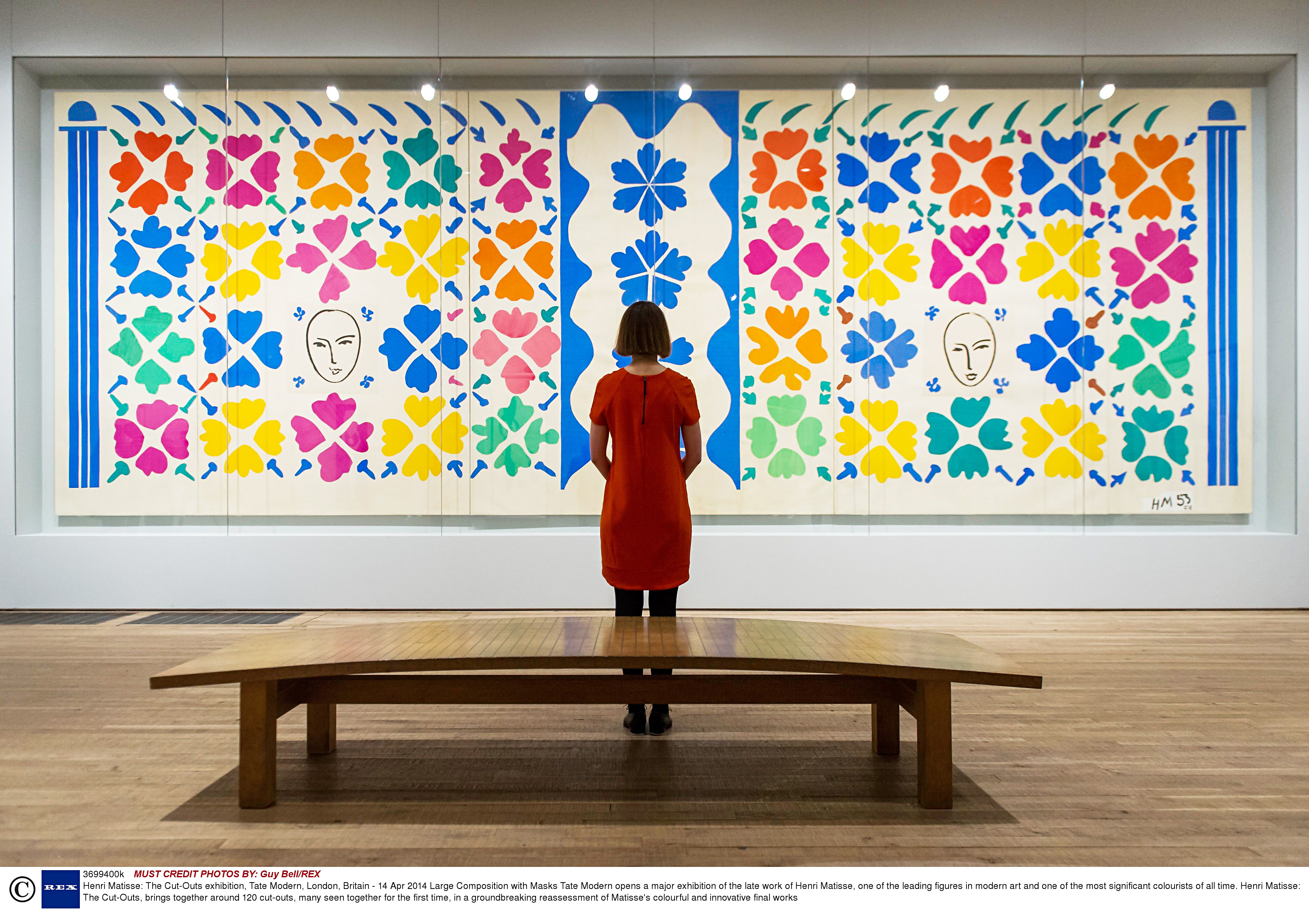 Henri Matisse: The Cut-Outs exhibition, Tate Modern, London, Britain - 14 Apr 2014
