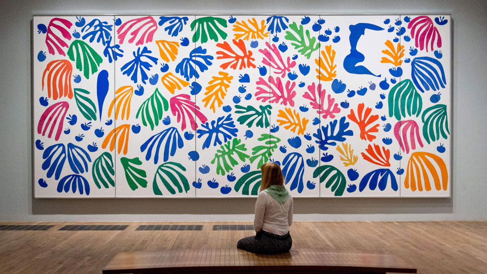 The Bohemian Garden quilt pattern drew much inspiration from the cut-outs of Henri Matisse