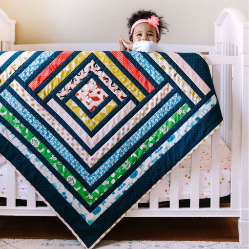 Rainbow Baby Quilt for sale