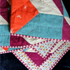 Liberty of London Baby Quilt for sale