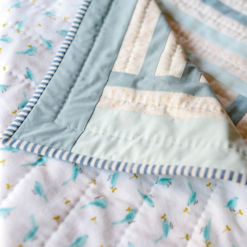 flannel baby quilt for sale