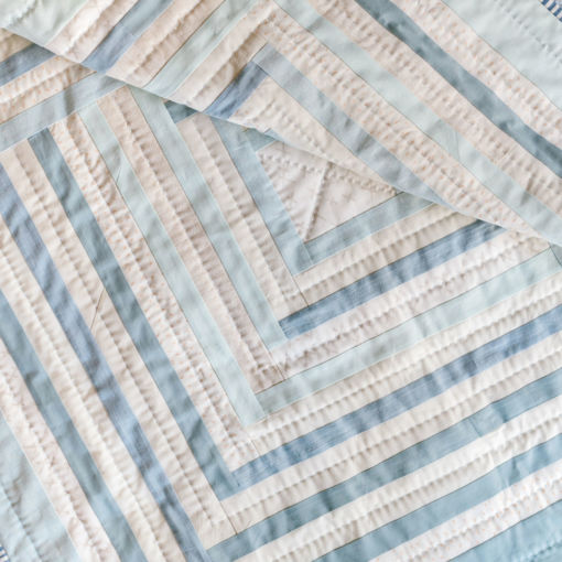 handmade modern baby quilt for sale