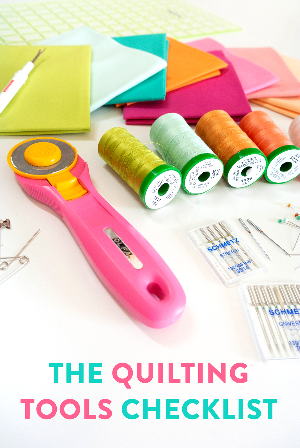 The best checklist for all of your sewing must-have tools
