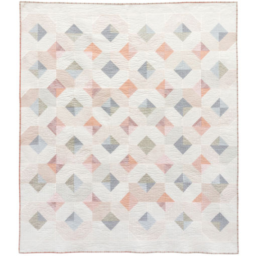 Cream Glitter and Glow Quilt Pattern