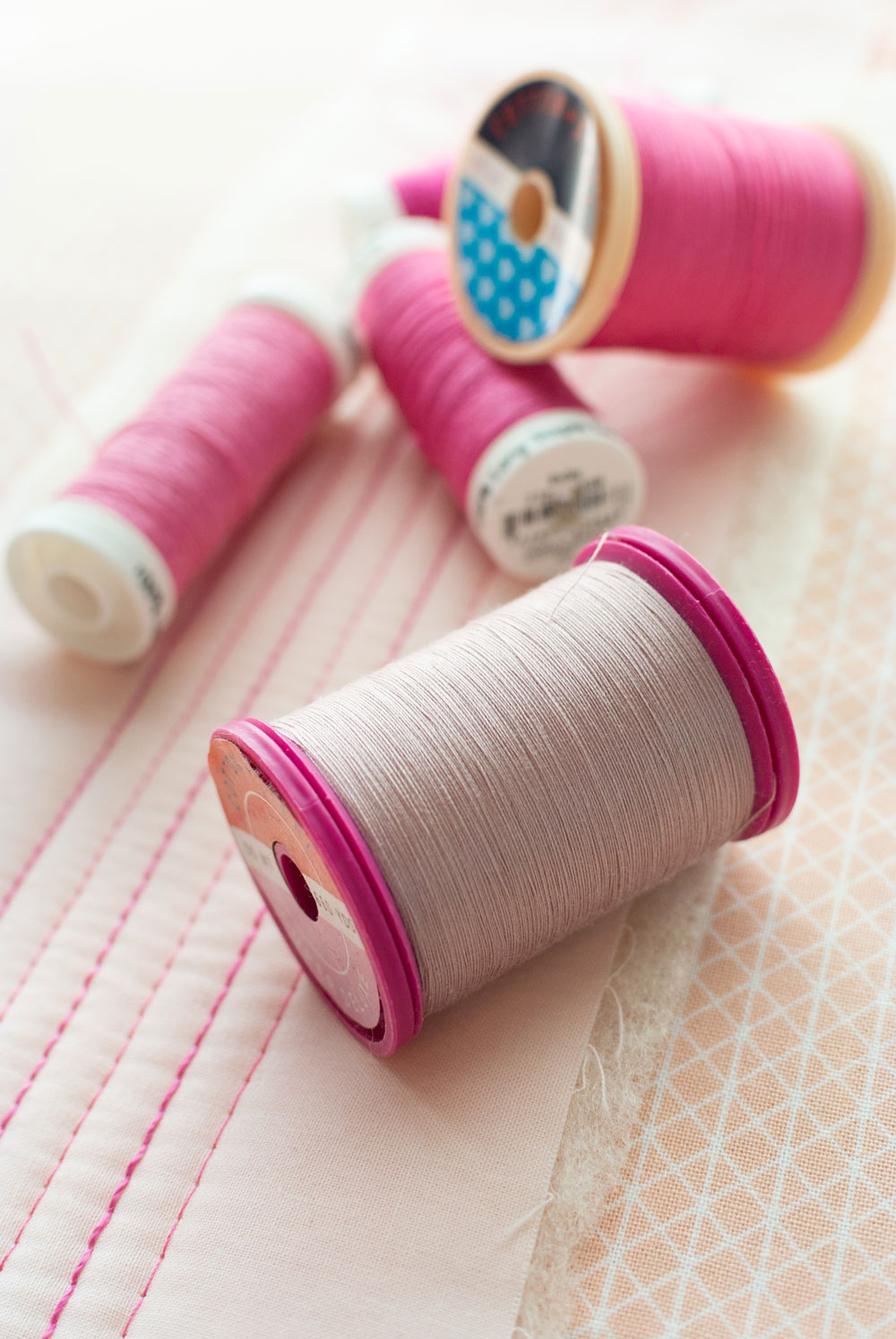 Machine quilting with 12 wt. thread is not hard, but you do need to know a few things. Here are 5 secrets to machine quilting with 12 weight thread!
