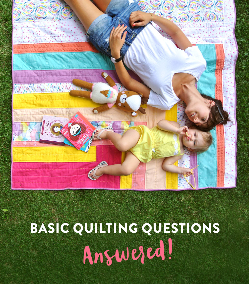 A fun blog series answering all of your basic quilting questions from how to square up a quilt to how to get perfectly matching seams.
