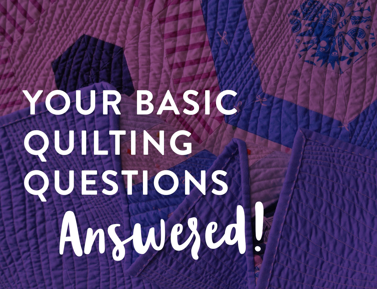 A beginner quilting blog series answering basic quilting questions. Like how to square up a quilt and get perfectly matching seams!