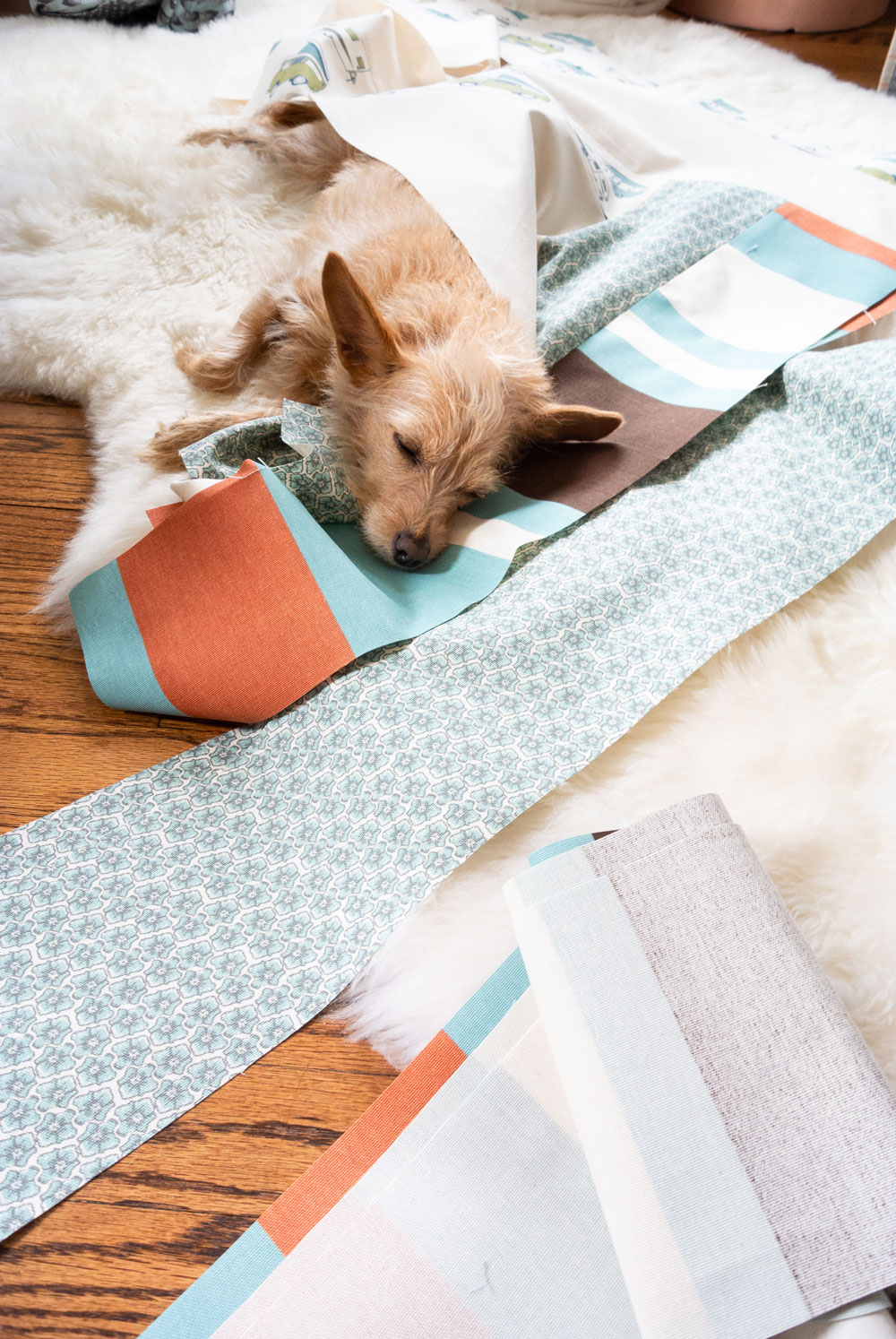 Make an outdoor quilt with canvas!